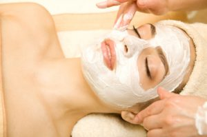 facial mask - acne treatment