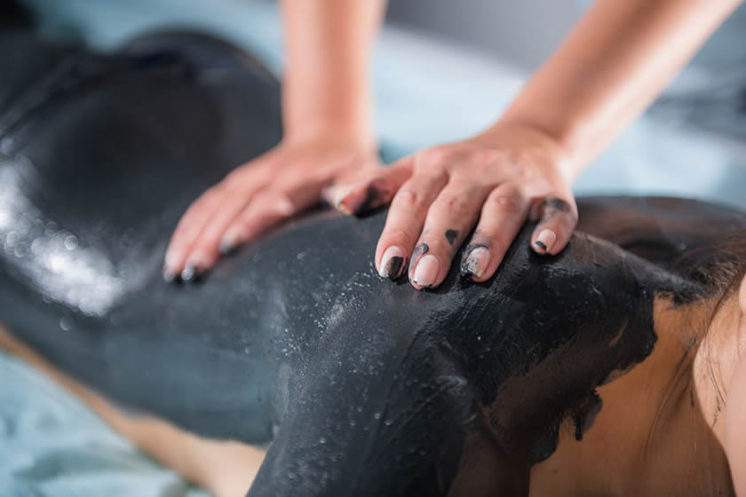 Dead sea mud wrap - spa treatment