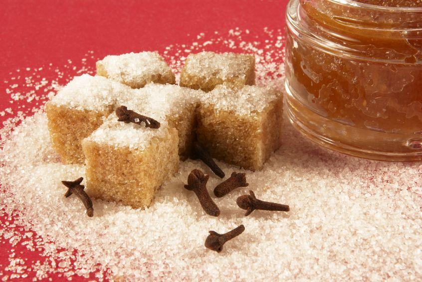 body scrub with brown sugar